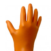 RPG Large 6 Mil Orange Micro-Diamond Glove (100/Box)